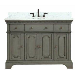 Find the perfect Ruthann Marble Top 49 Single Bathroom Vanity Set ByOphelia & Co.