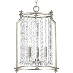 Joines 3-Light Crystal Chandelier by House of Hampton