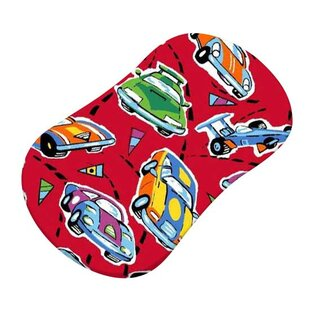 Deals Race Cars Fitted Bassinet Sheet By Sheetworld