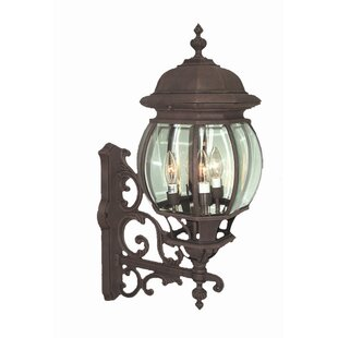 Online Reviews Basic 4-Light Outdoor Sconce By Woodbridge Lighting