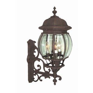 Top Brands of Basic 4-Light Outdoor Sconce By Woodbridge Lighting