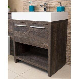 Halila 750mm Free-standing Vanity Unit By Belfry Bathroom