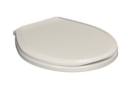 Centoco Round Plastic Toilet Seat With Safety Close Wayfair