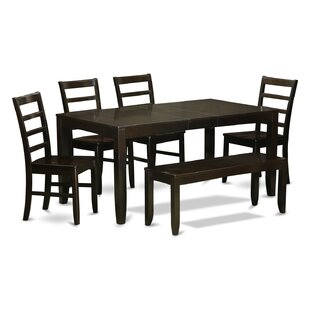 Lynfield 6 Piece Dining Set by East West ..