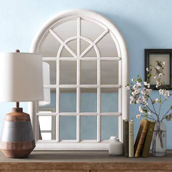 Millwood Pines Flickinger 10 Windowpane Accent Mirror Reviews Wayfair