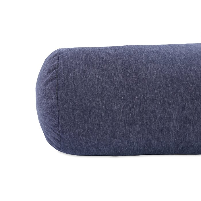 Slub Knit Jersey Bolster Pillow