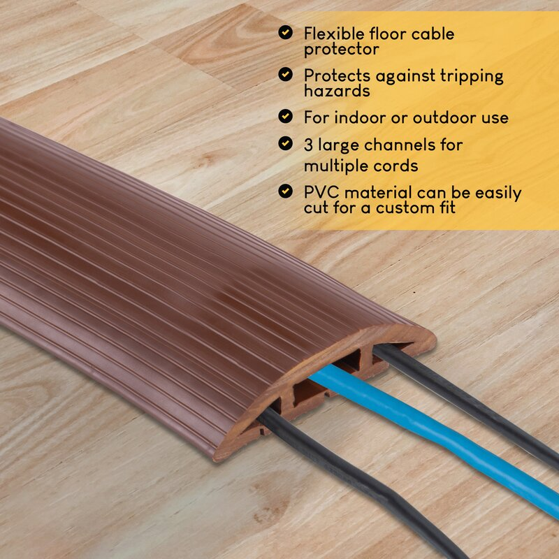 Newton Supply Floor Cable Cover Reviews Wayfair