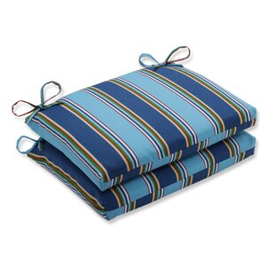 Bonfire Regata Outdoor Chair Seat Cushion (Set Of 2) By Pillow Perfect