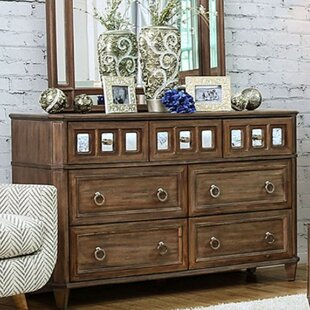 A&J Homes Studio Lia 7 Drawer Dresser