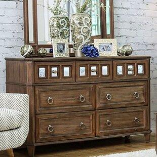 A&J Homes Studio Lia 7 Drawer Dresser Image