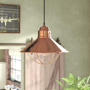 Trent Austin Design Yadira 1-Light Cone P..