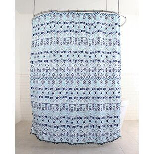 Huston Fabric Single Shower Curtain