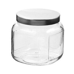0.5 qt. Storage Jar with Lid (Set of 6)