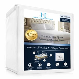 Marta Premium Deep Pocket Zippered Hypoallergenic Waterproof Mattress Protector