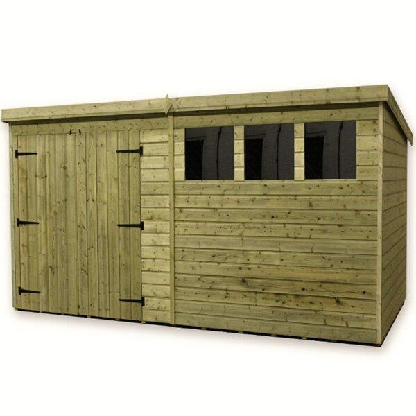 empire sheds ltd 12 x 6 wooden garden shed reviews wayfaircouk
