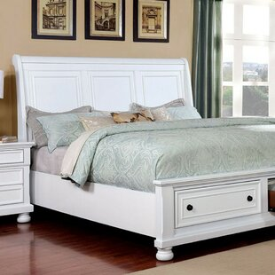 Auger Sleigh Bed by Canora Grey
