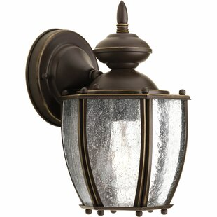 Compare Triplehorn1-Light Outdoor Wall Lantern By Alcott Hill