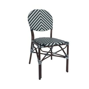 Birk Cafe Stacking Patio Dining Chair