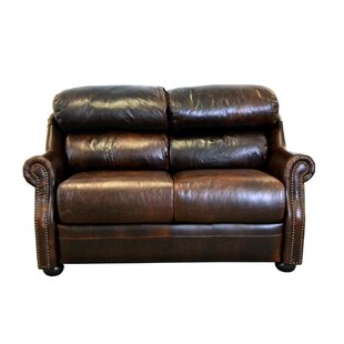 Beacon Leather Loveseat