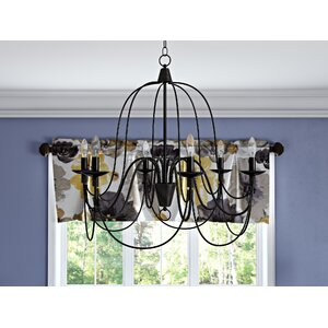 Big Sky 6-Light Candle-Style Chandelier