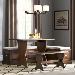 Dearborn 3 Piece Nook Dining Set