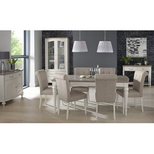 Osvaldo Extendable Dining Set With 6 Chairs By August Grove
