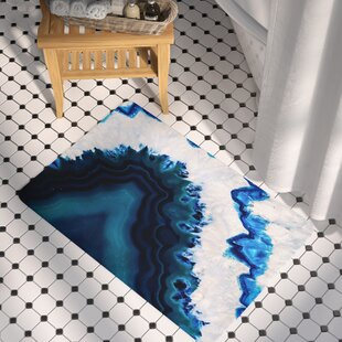 Geode Photography Memory Foam Bath Rug
