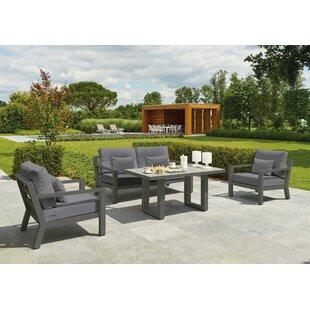 Bardmoor 4 Seater Sofa Set By Sol 72 Outdoor