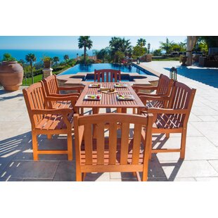 Cotten 7 Piece Dining Set ByDarby Home Co
