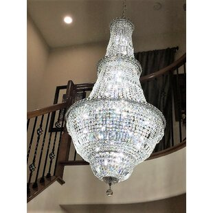 Carson 34-Light Empire Chandelier by House of Hampton