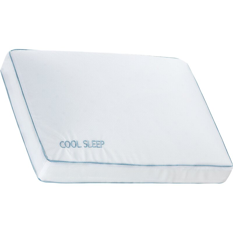 5dbe00f82570 Alwyn Home Sleep Ventilated Gusseted Gel Plush Comfort Cooling Bed ...