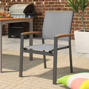 Krystal Patio Dining Chair (Set of 2)