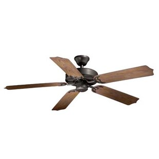Winston Porter Medallion 5-Blade Ceiling Fan