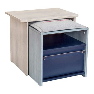 Compare prices Holroyd 1 Drawer Nightstand by Isabelle & Max