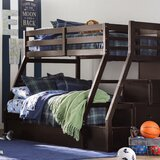Reece Twin Over Full Bunk Bed with Trundle and Drawers by Viv + Rae