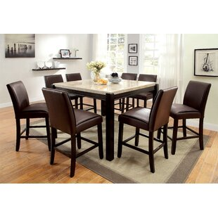 Dornan 9 Piece Pub Table Set Read Reviews
