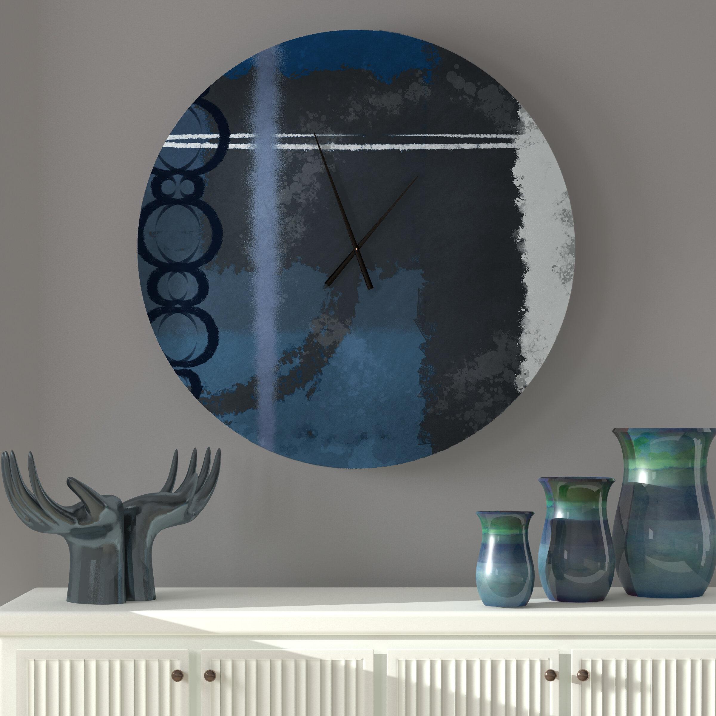 Ebern Designs Kwinana Wall Clock Wayfair