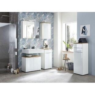Esquivel 5 Piece Bathroom Storage Furniture Set With Mirror By Ebern Designs