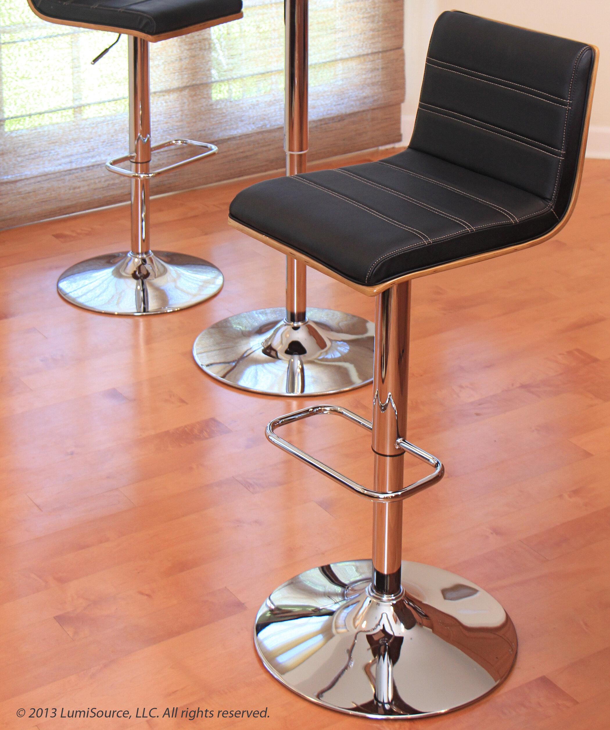 Phenomenal Vasari Adjustable Height Swivel Bar Stool Creativecarmelina Interior Chair Design Creativecarmelinacom
