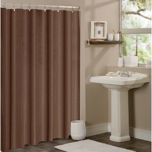 Timberview Waffle Shower Curtain