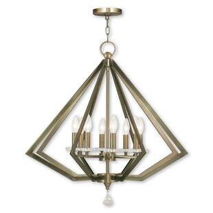 Willa Arlo Interiors Estee 8-Light Geometric Chandelier