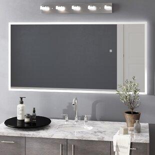 Orren Ellis Jessalyn LED Bathroom/Vanity Mirror