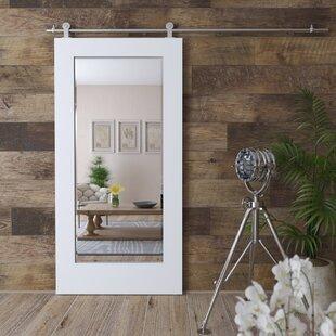 Jakeman Barn Door Full Length Mirror by Gracie Oaks