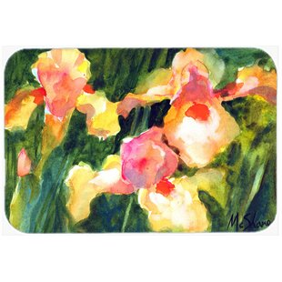 Orchid Flower Glass Cutting Board ByCaroline's Treasures