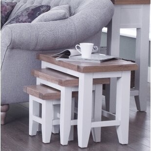 Buckley 3 Piece Nest Of Tables By Beachcrest Home