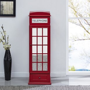Top Reviews Benedict Phone Booth Free Standing Jewelry Armoire By Latitude Run