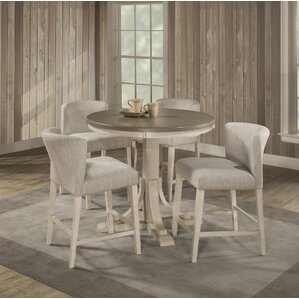 Kinsey Modern 5 Piece Dining Set by Rosec..