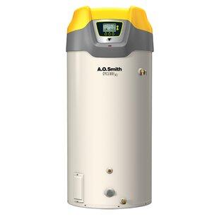 Commercial Tank Type Water Heater Nat Gas 130 Gal Cyclone Xi 499900 BTU Input High Efficiency