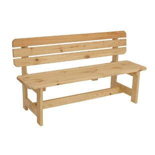 Review Watauga Solid Wood Traditional Bench