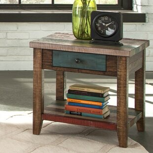 Nassau Street End Table by World Menagerie